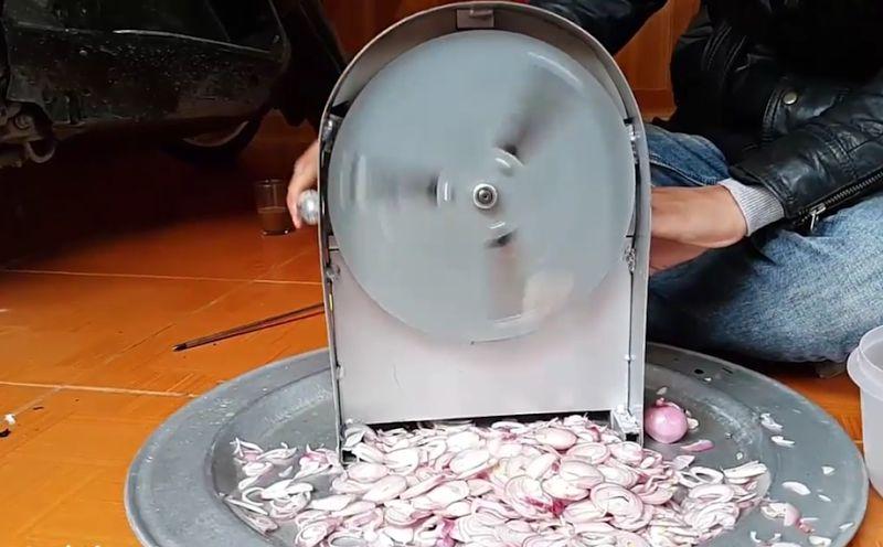 Giá máy máy thái hành tỏi khô và tươi. Các loại máy thái hành tỏi tốt nhất