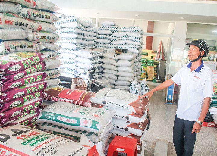 Các cửa hàng bán vật tư nông nghiệp ở TPHCM