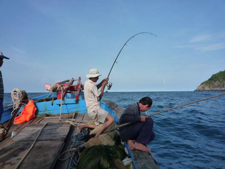 Cách làm mồi câu cá biển gần bờ. Kinh nghiệm câu cá biển gần bờ